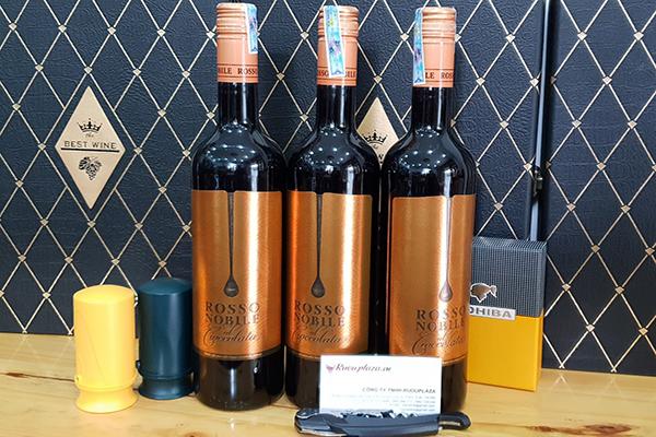 giá rượu vang rosso