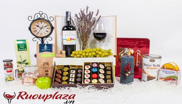 hộp quà rượu vang