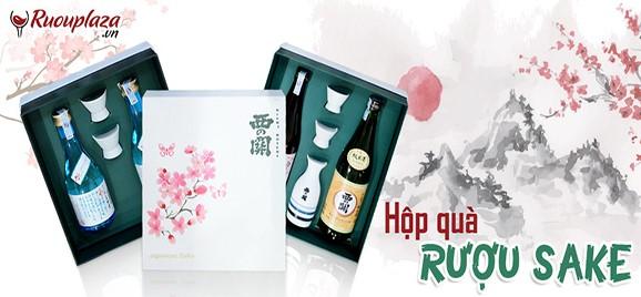 hộ quà rượu sake