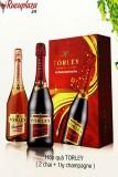 Hộp quà rượu sâm banh Torley
